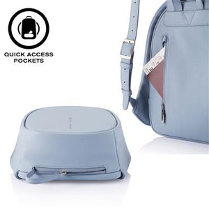 Load image into Gallery viewer, Bobby Elle anti theft backpack | Light Blue