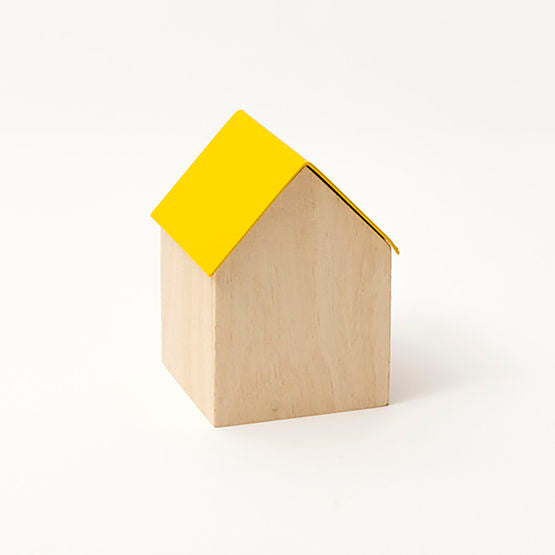 Small store house | Yellow