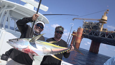 The Profishent, Jigalode, Louisiana, Venice, Oil Rig, Yellowfin Tuna, YFT, Yellowfin, Tuna, Offshore, Fishing, Seahunter,