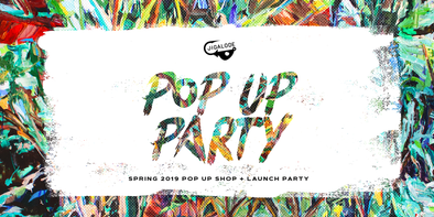Our First Ever Pop Up Shop + Launch Party