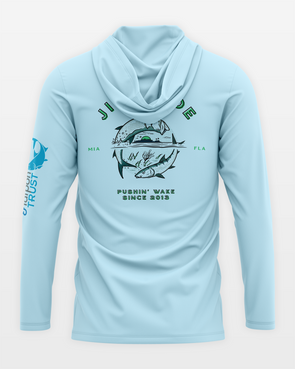 Jigalode, Bonefish, Tarpon, Trust, Fishing, Fly Fishing, Shirt, UV, Sun, Performance, BTT, Hoodie, Hoody, Long Sleeve