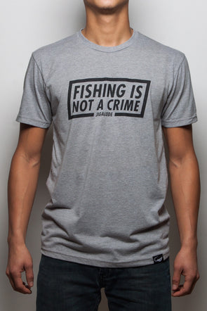 Fishing Is Not A Crime Tee - Jigalode