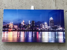 Cincinnati panoramic print on metal