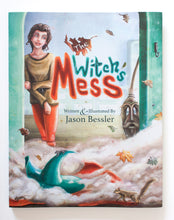 The Witch's Mess Children's Book