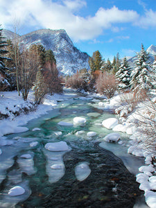 Colorado Mountains, Ice Creek