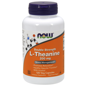 L-Theanine, 200 mg, 120 Veg Capsules