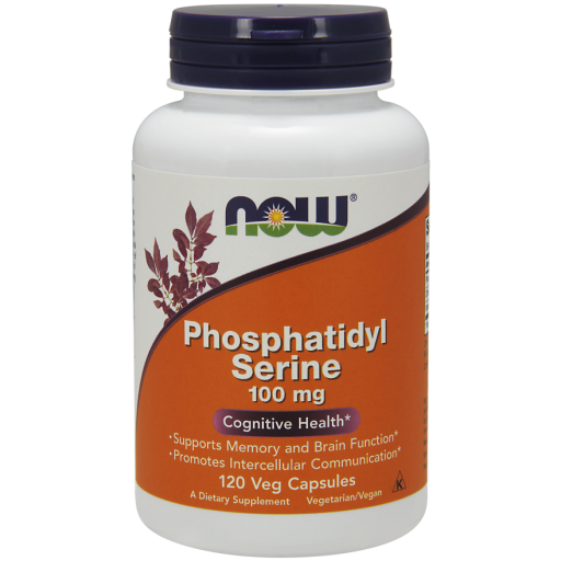 Phosphatidyl Serine, 100 mg,  120 Softgels