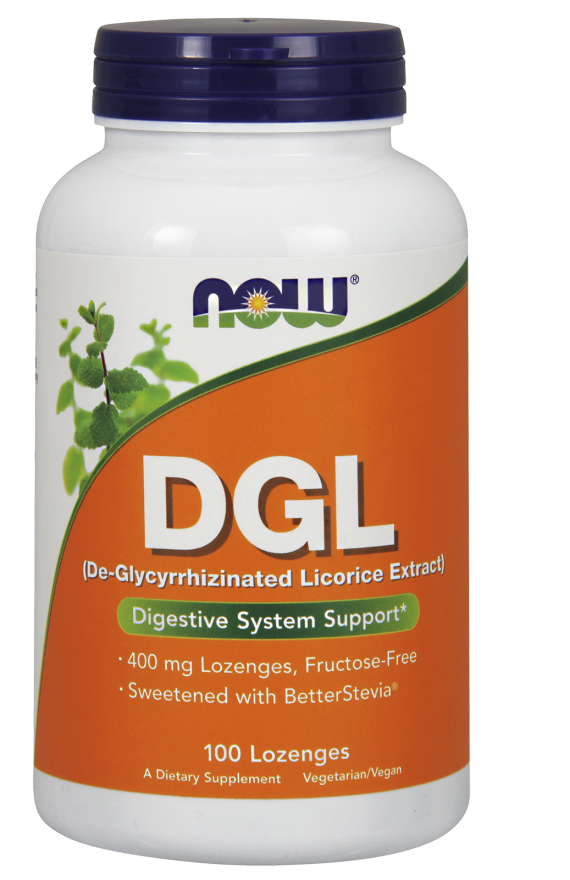 DGL, 400 mg, 100 Lozenges