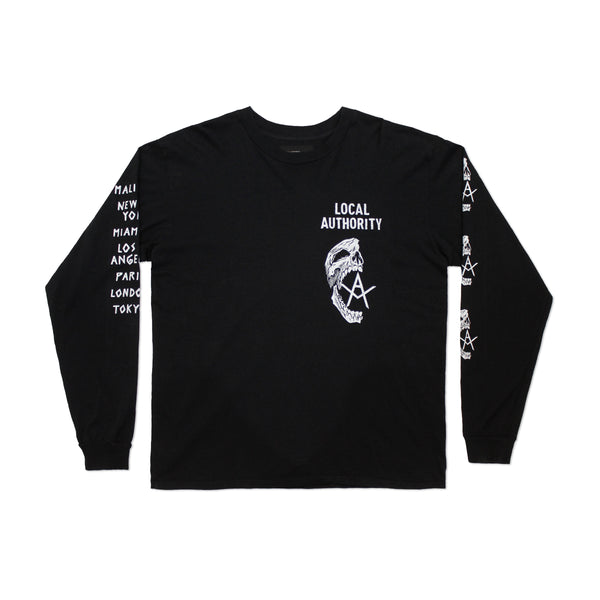 Skull O Long Sleeve Shop Tee