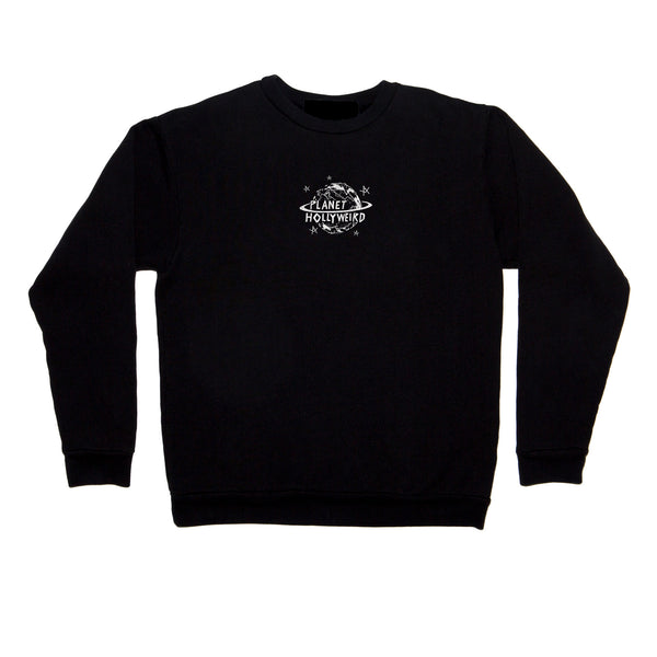 Hollyweird crew neck fleece