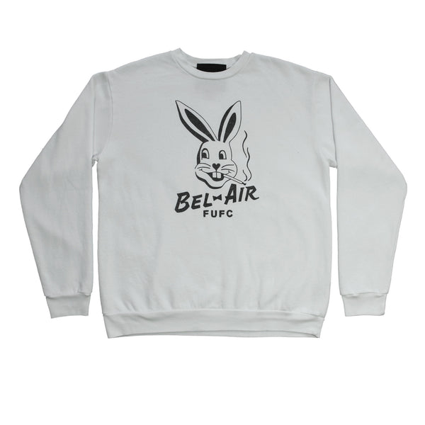 Bel Air Bunny crew neck fleece