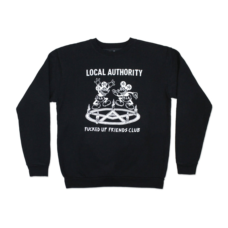 Devil's Dance Crew Neck Fleece