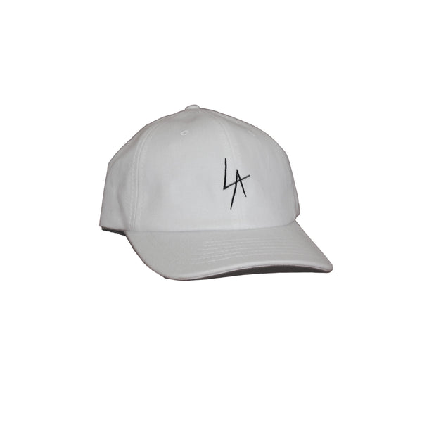 LA Slash embroidered snapback hat