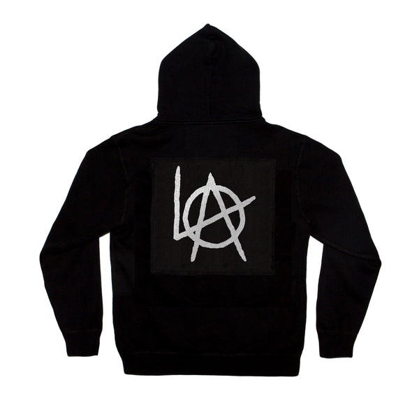 LA Anarchy zip fleece