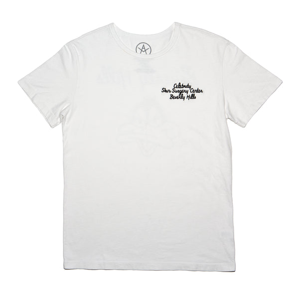 Celebrity Center heavy weight tee emb