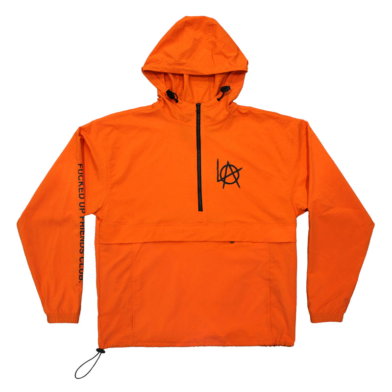 Unisex Anti Authority anorak jacket