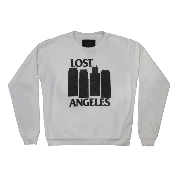Black City crew neck fleece