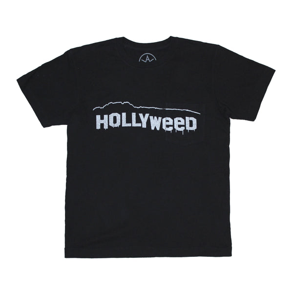 Hollyweed pocket tee