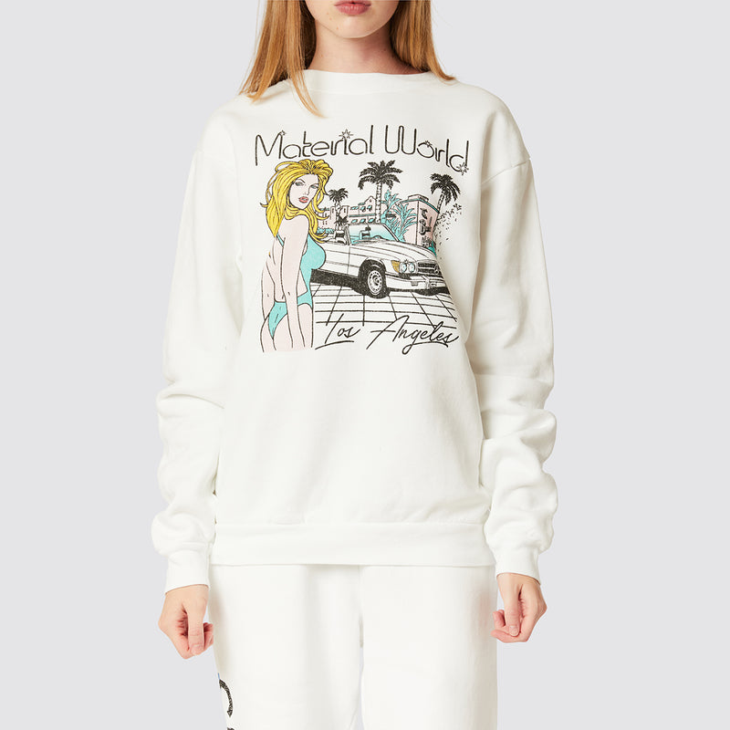 Material World Crew Neck Fleece