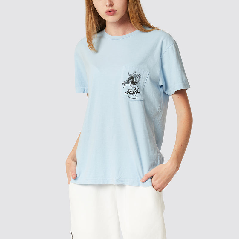 Pleasure Chest Pocket Tee Sky