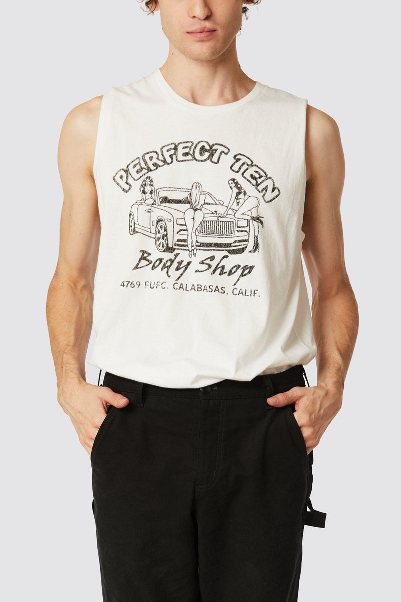 BODY SHOP MUSCLE TANK
