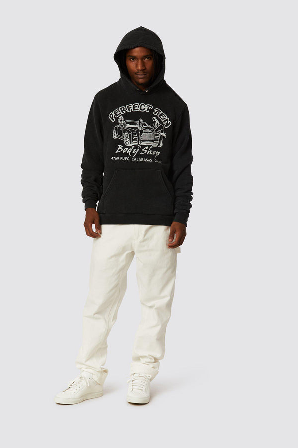 BODY SHOP HOODED FLEECE