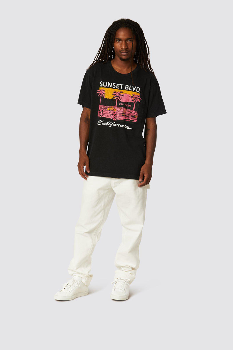 SUNSET BLVD POCKET TEE