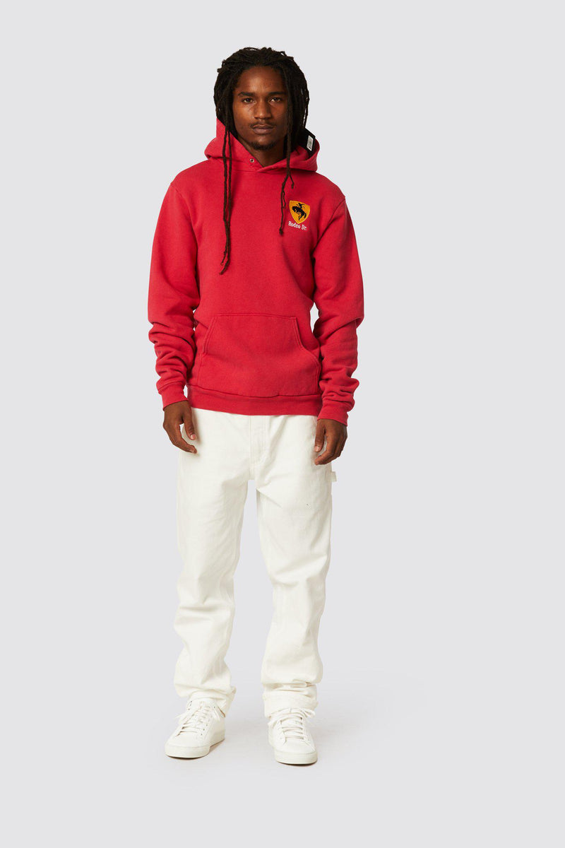 RODEO DR. HOODED FLEECE EMB