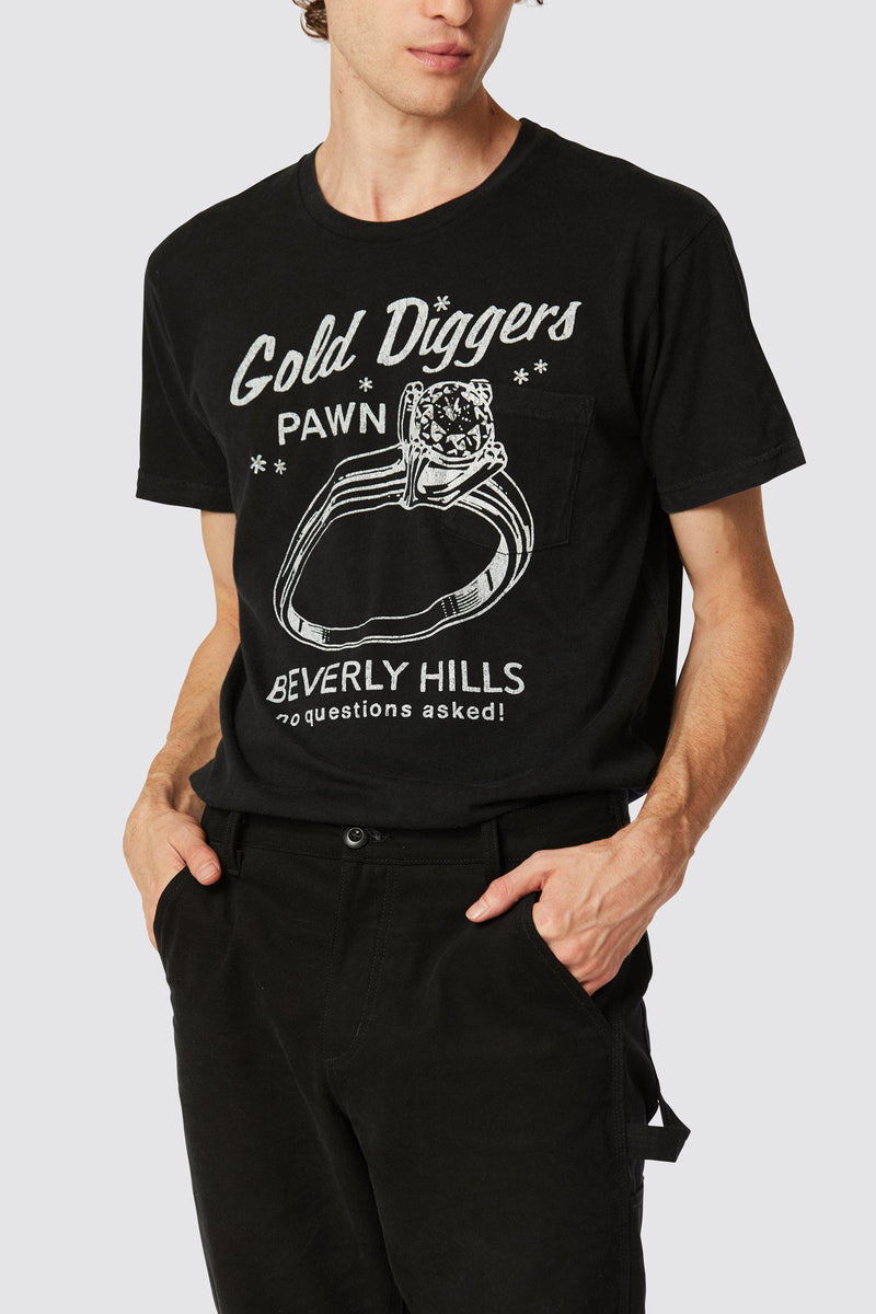 GOLD DIGGERS POCKET TEE