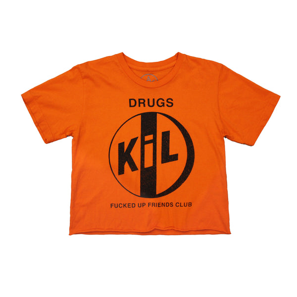 Kill Pill crop tee