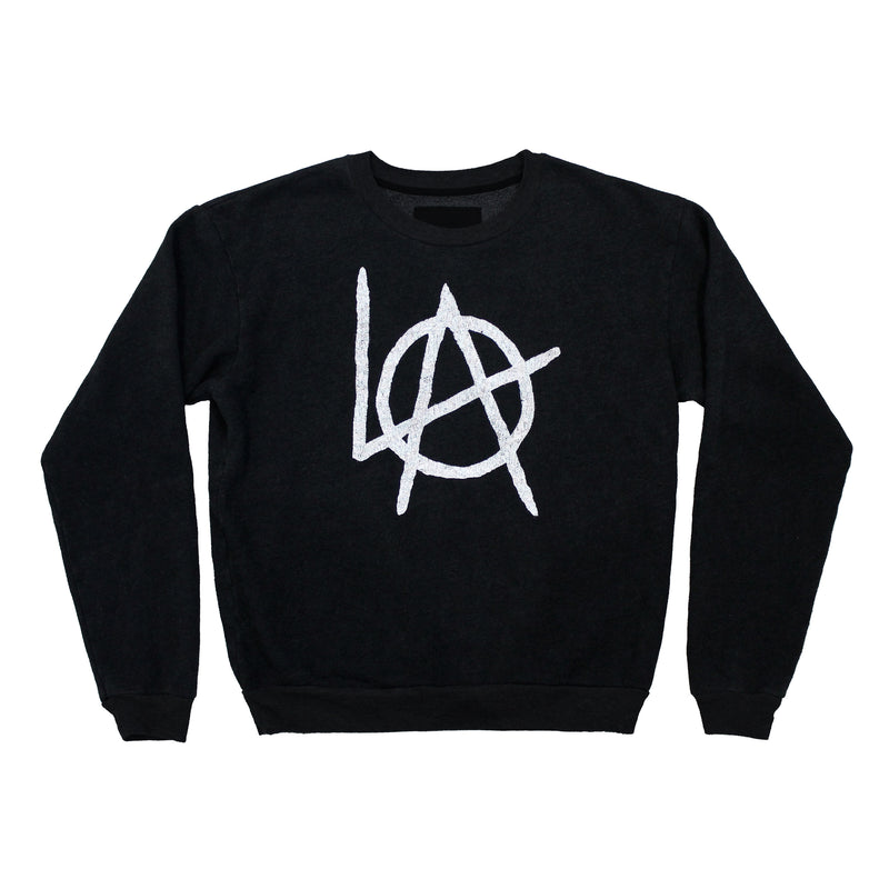 LA Anarchy crew neck fleece