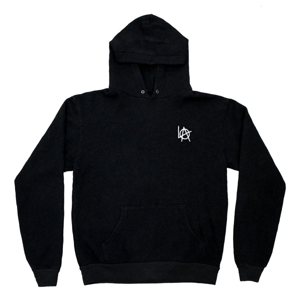 LA Anarchy hooded fleece emb