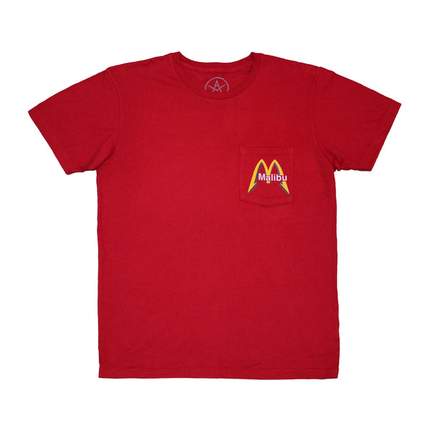 Malibu Cafe pocket tee