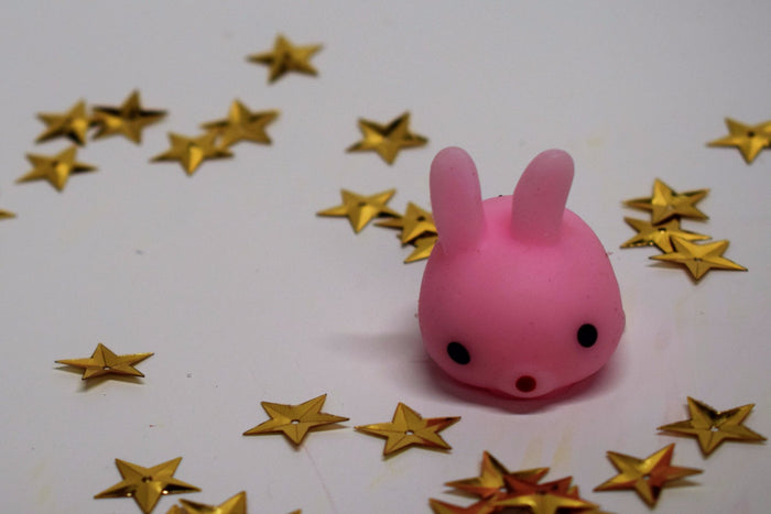 Cute Pink Bunny Mini Squishy Soft