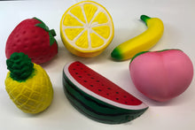 6 pack Fruit Squishy Slow Rising Squishy Scented