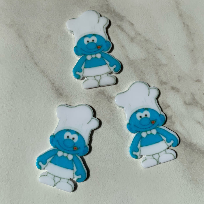 Smurfs Flat Charms