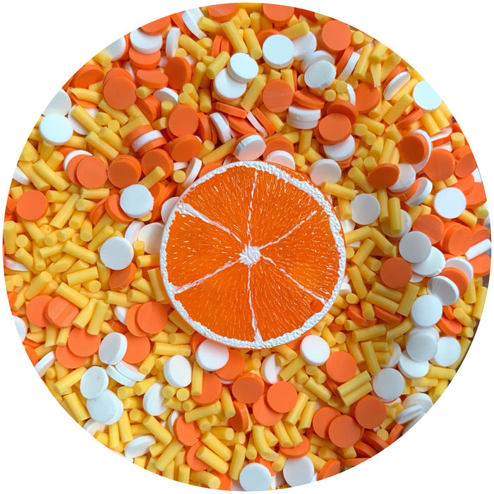 Orange Dream Faux Sprinkle Mix