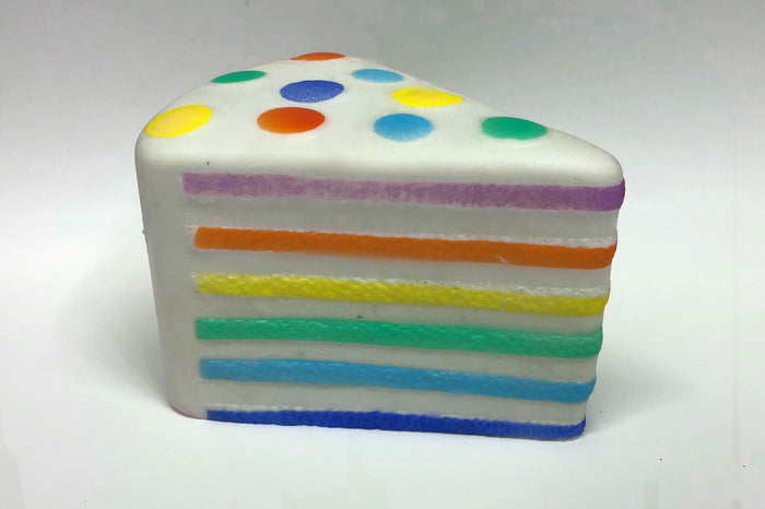 Rainbow Layer Cake Squishy