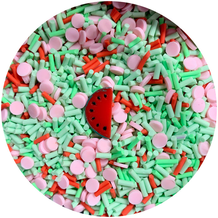 Summer Watermelon Faux Sprinkle Mix