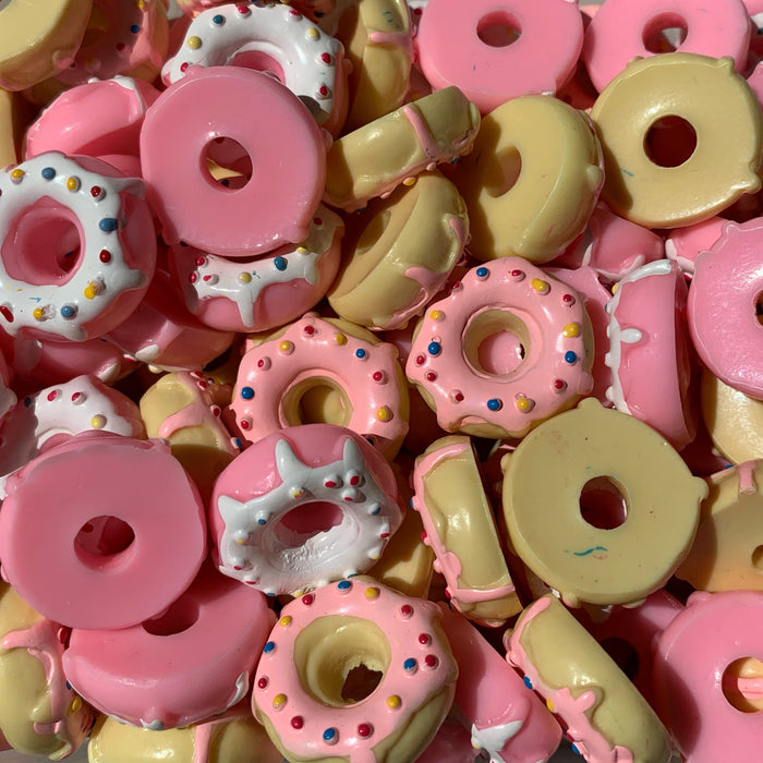 Frosted Donut Charms