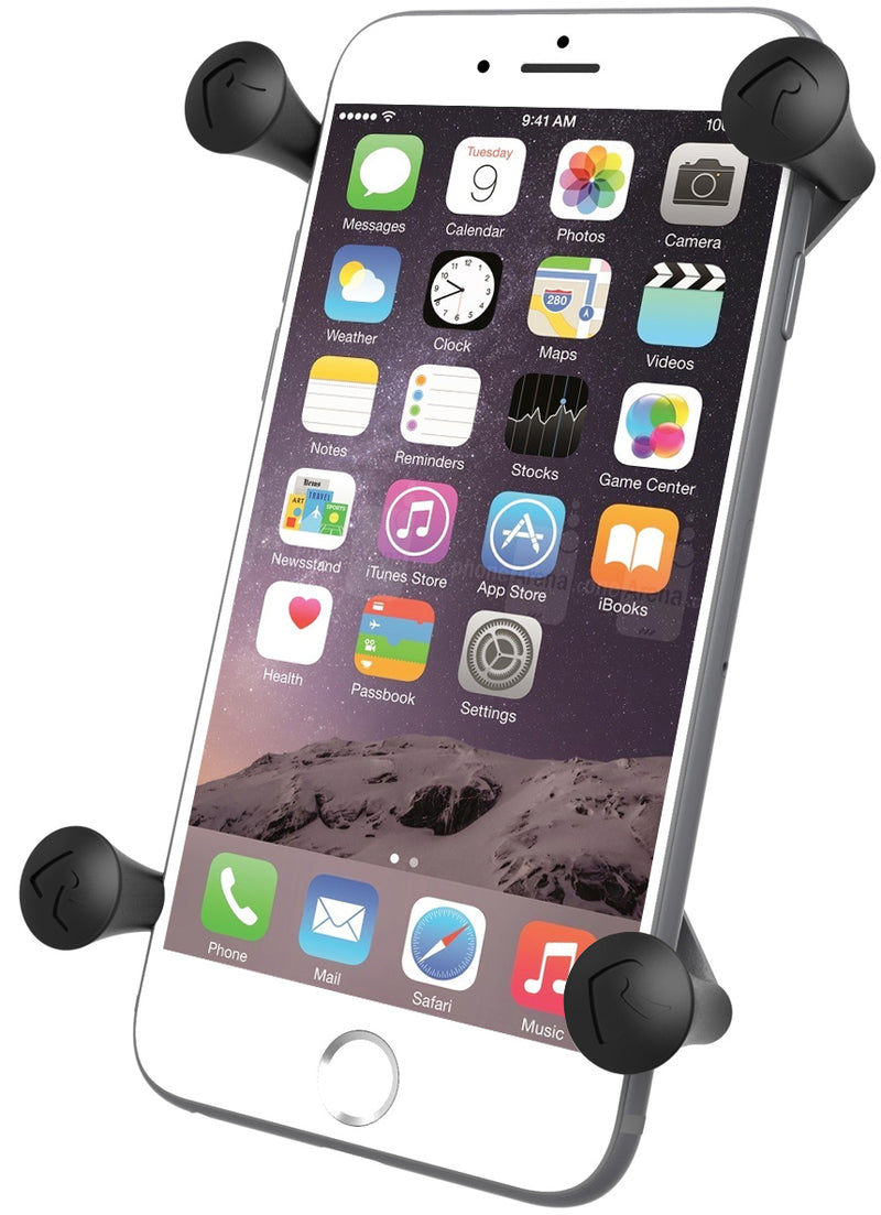 "1"" X-GRIP PHONE HOLDER LARGE - The Grease Monkeys"