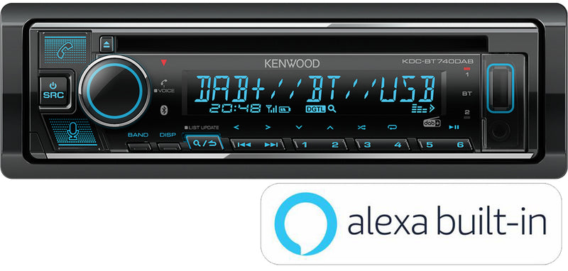 KENWOOD KDC BT740DAB - The Grease Monkeys