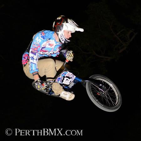 BMX Rider Enjoys Race By Pulling Amazing Stunt