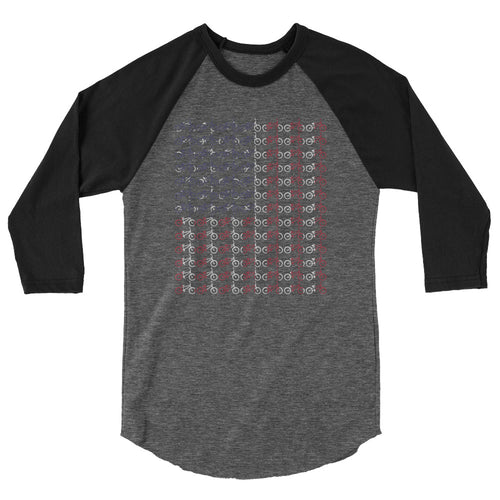 BMX USA American Flag Shirt