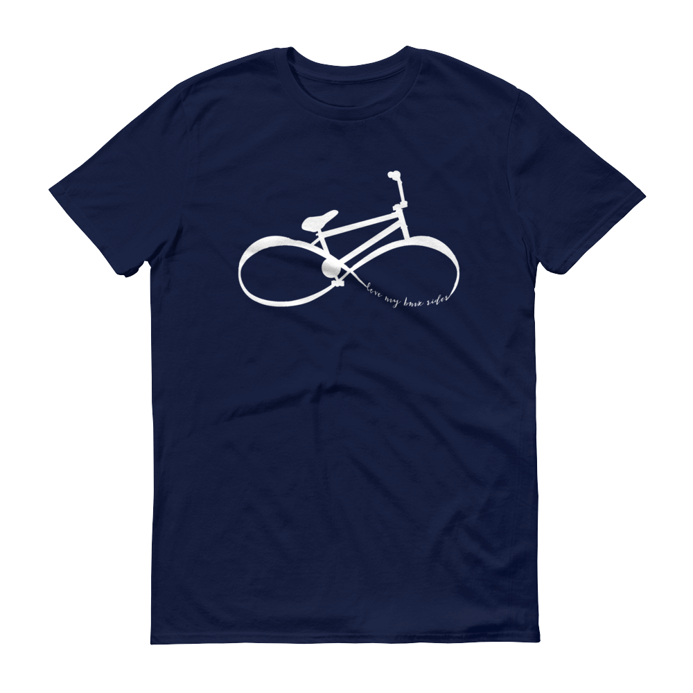 "Infinity BMX Mom ""love my bmx rider"" Shirt"