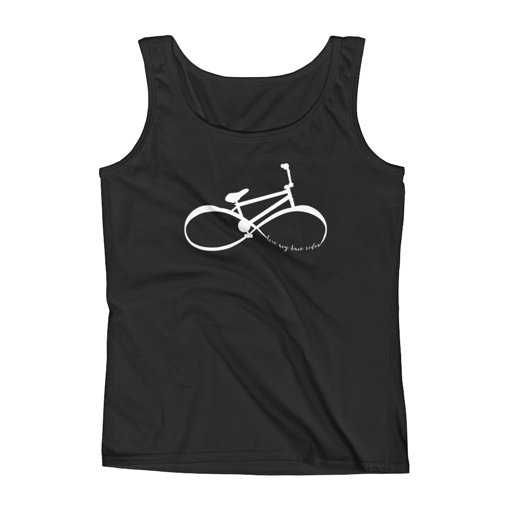 "Infinity BMX Mom ""love my bmx rider"" Tank Top"