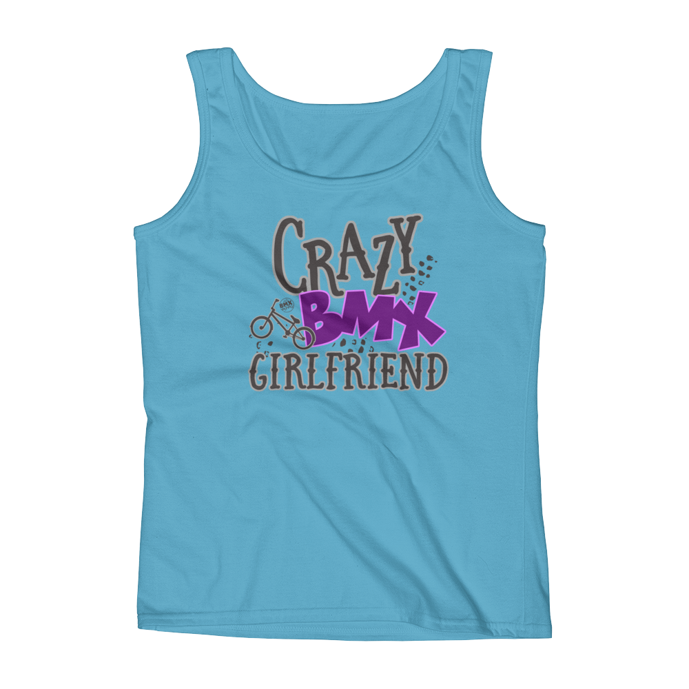 Crazy BMX Girlfriend Tank