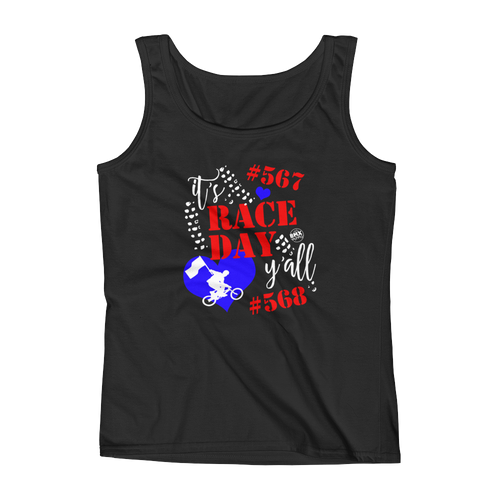 PERSONALIZED Race Day BMX Mom Tank