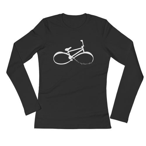 "Infinity BMX Mom's Long Sleeve ""Love my BMX Rider"" Shirt"