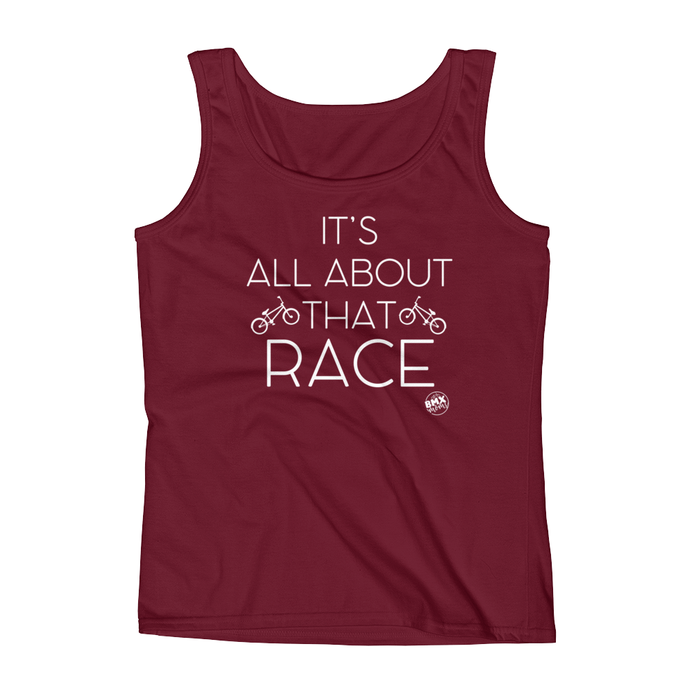 It's all about that race BMX MOM tank